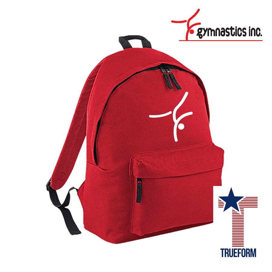 TrueForm - Gymnastics.inc Backpack Red
