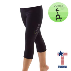 TrueForm Vortex <br>Gymnastics Nylon Leggings