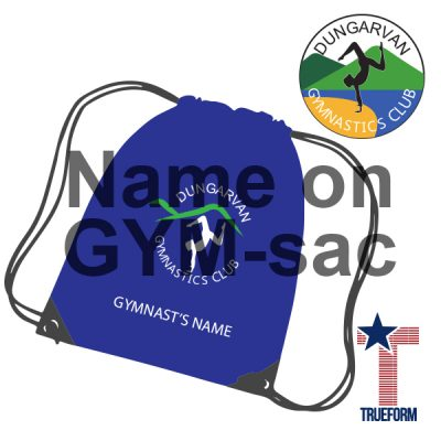 Personalised Name On Gym Sac